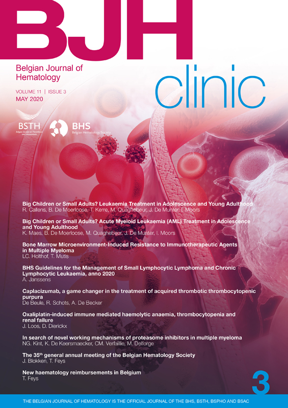 Belgian Journal of Hematology