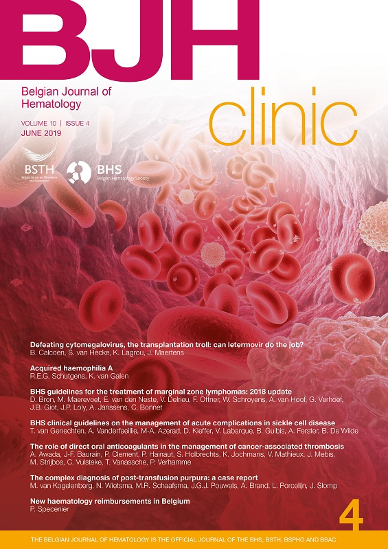 Belgian Journal of Hematology