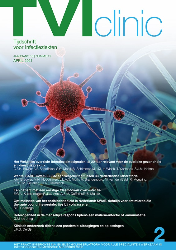Tijdschrift voor Infectieziekten