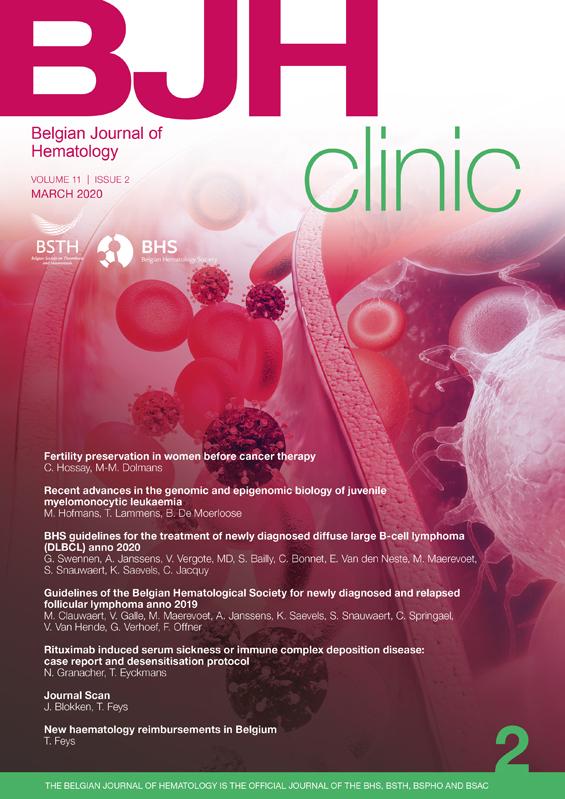 Belgian Journal of Hematology (BJH)