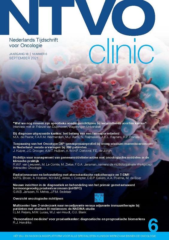 Dutch Journal of Oncology (NTvO)