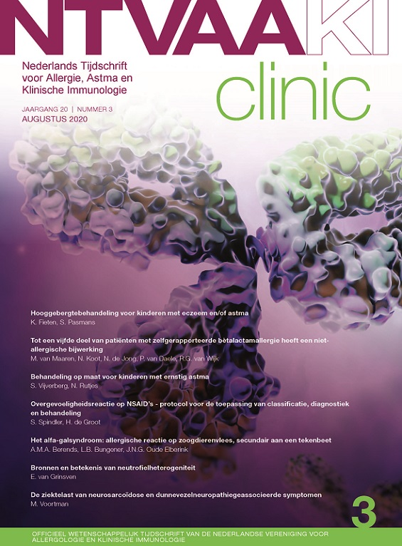 Dutch Journal of Allergy, Asthma & Clinical Immunology (NTvAAKI)